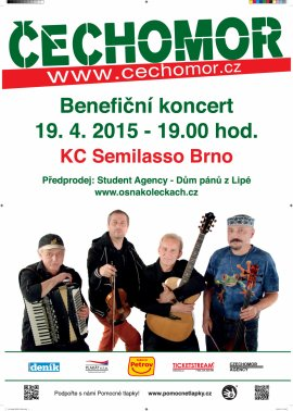 Čechomor - Benefiční koncert