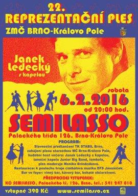 22. Reprezentační ples ZMČ Brno-Královo Pole