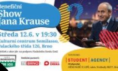 Benefiční Show Jana Krause pro Emila