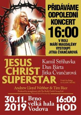 JESUS CHRIST SUPERSTAR - přidané odpolední představení
