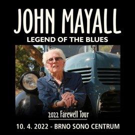 John Mayall - Farewell tour   Brno