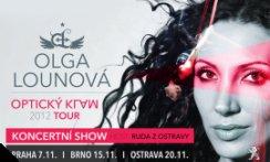 Olga LOUNOVÁ - Optický klam - TOUR 2012 - PŘEDPRODEJ TICKETPORTAL