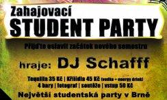 Zahajovací Student Party