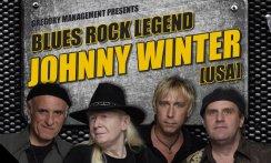 BLUES ROCK LEGEND JOHNNY WINTER & BAND (USA) Support: TOM JEGR GANG