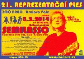 21. Reprezentační ples ZMČ BRNO - Královo pole