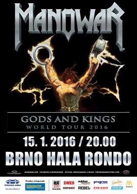 MANOWAR - World tour 2016 - Czech Republic