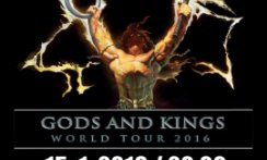 MANOWAR - World tour 2016 - Czech Republic