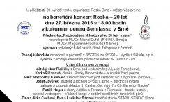 Benefiční koncert Roska - 20 let