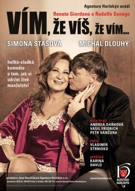 V hlavních rolích: Simona Stašová a Michal Dlouhý