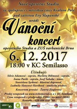 Vánoční koncert operetního Studia