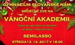 Akadamie školního sboru gymnázia Slovánské Náměstí