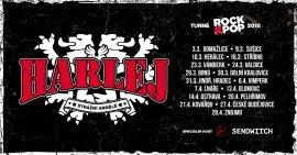 HARLEJ - turné ROCK&POP 2018